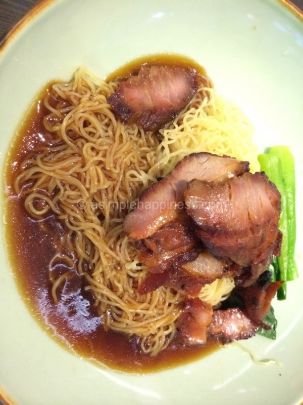 1) Canton Paradise-Char Siew Noodle Dry for Dinner