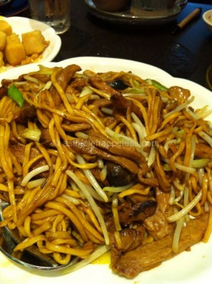 10) Canton Paradise-Fried Ee Fu Noodles wif Peking Duck