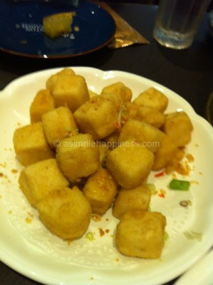 8) Canton Paradise-Fried Dice Beancurd wif Salt & Pepper