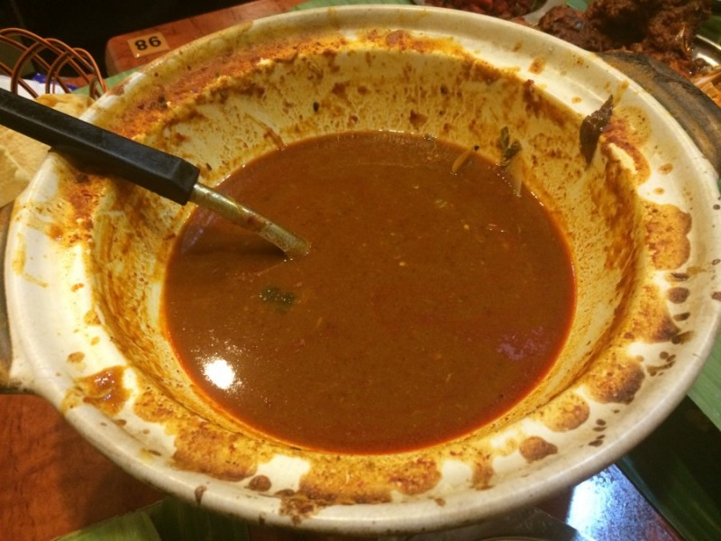 13) Samys Curry-End Product of Fish Head Curry