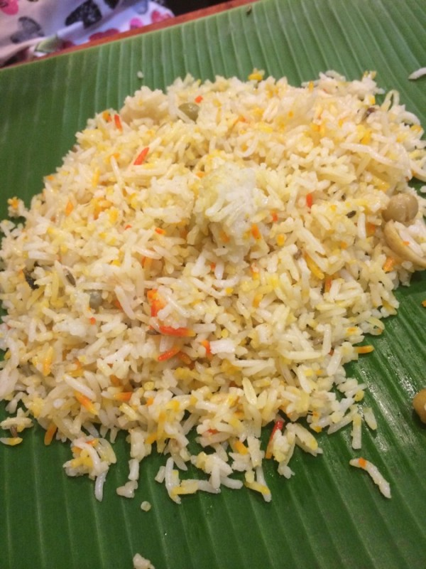 2) Samys Curry-Briyani Rice
