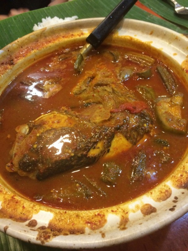 3) Samys Curry-Fish Head Curry