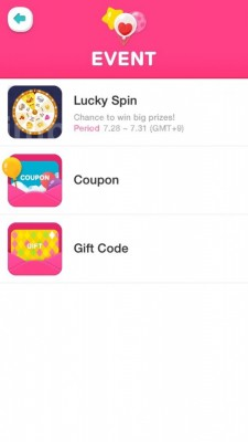 Line Play Spin Event | A Simple Happiness
